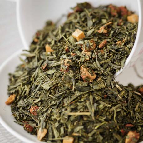 Thé vert Tarte aux fraises