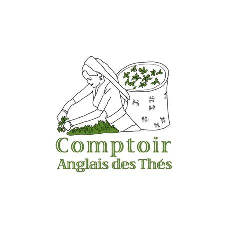 "BOITE A THE ""COMPTOIR ANGLAIS"" - TURQUOISE"