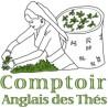 """BOITE A THE """"COMPTOIR ANGLAIS"""" - JAUNE"""