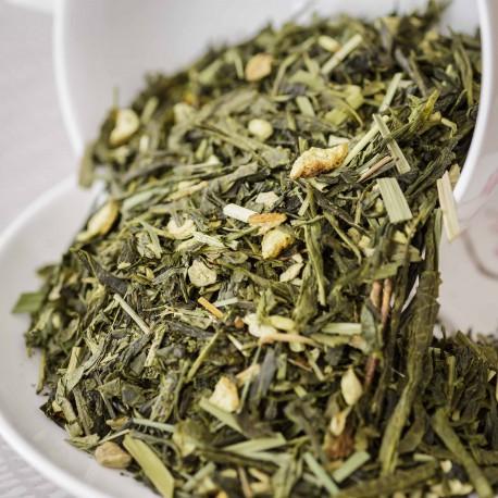 Thé vert bio citron-gingembre